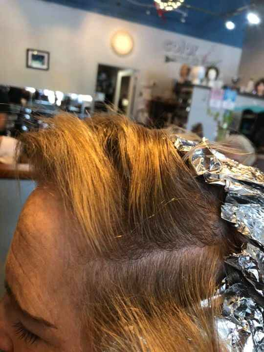 Photos from Hairline Beauty Salon's post